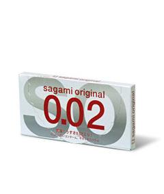12 stk. SAGAMI Original 0.02 latexfri kondomer