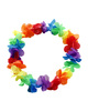 Rainbow Hawaii Flower Necklace