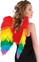 Rainbow engel wings 50cm
