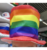 Rainbow Clown Hat