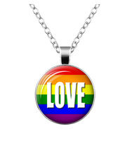 Rainbow Necklace LOVE